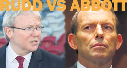 Rudd vs Abbott Election13