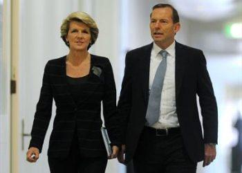 Julie Bishop and Tony Abbott