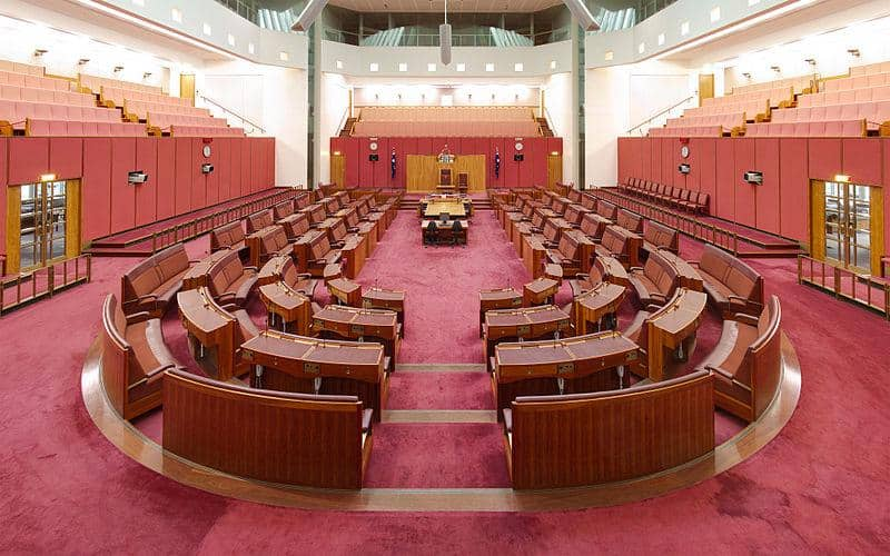 Australian Senate in Parliament House