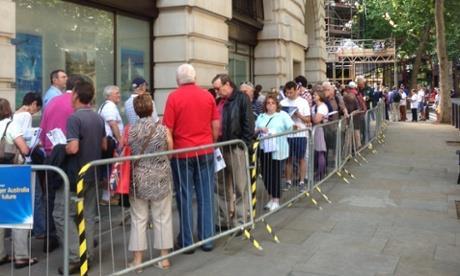 ELECTION2013 PRE-POLL VOTE LONDON