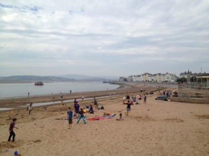Exmouth in Devon