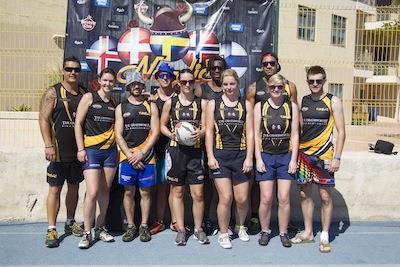 Winners of the Malta Tag Rugby Festival Tumeke