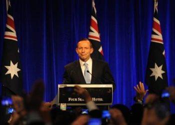 Australian federal election Tony Abbott wins