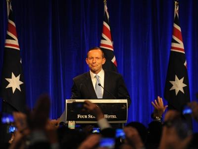 Australian federal election Tony Abbott wins