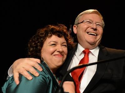 Rudd loses election