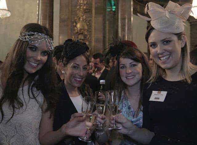 Melbourne Cup celebrations Australia House 2012