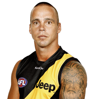 Richmond caution player after bikie visits dressing room