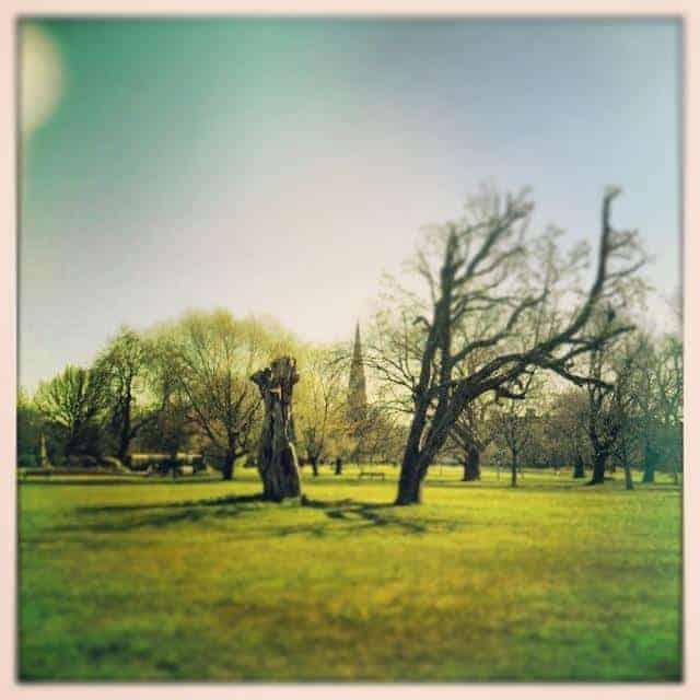 Clissold Park Newington Green (c) @auslondonlife