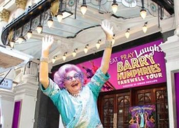Dame Edna Barry Humphries Eat Pray Laugh