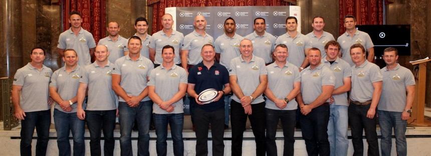 England vs Australia rugby legends pre game press conference