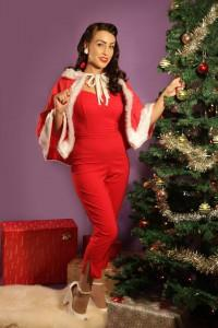 Promo shot for the Mid Century Christmas Market by Tony Nylons