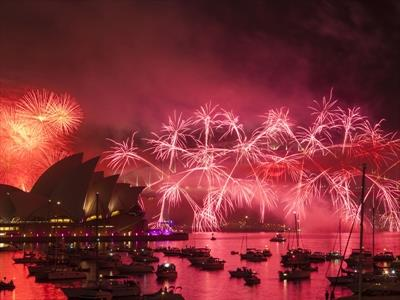 New Years Celebration Australia