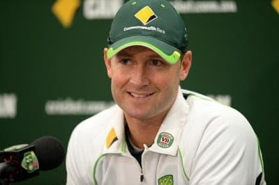 Australia cricket captain Michael Clarke