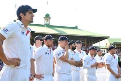 England Cricket Team The ASHES