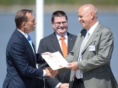 Tony Abbott Australia Day