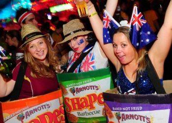 Australia Day 2013 at Infernos London