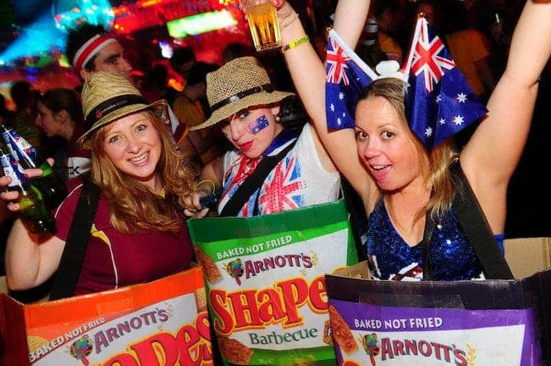 Australia Day 2013 at Infernos London