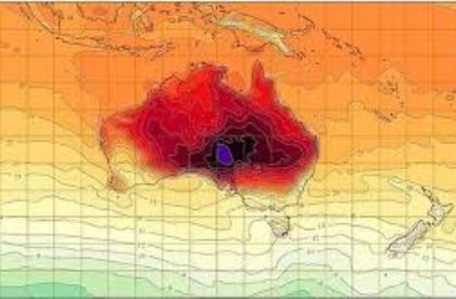 Australia hottest weather summer
