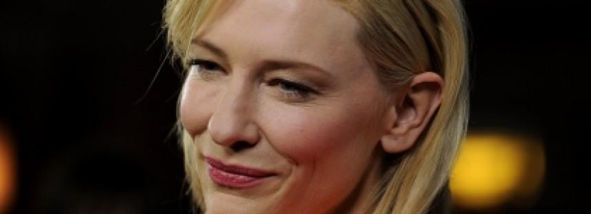 "Cate Blanchett dedicates BAFTA win to ""bastard"" Hoffman"