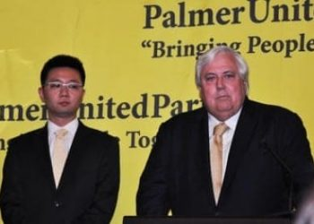 Clive Palmer PUP launch WA senate re-election