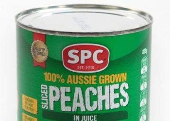SPC canned fruit australia