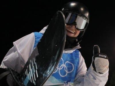 Scotty James snowboard