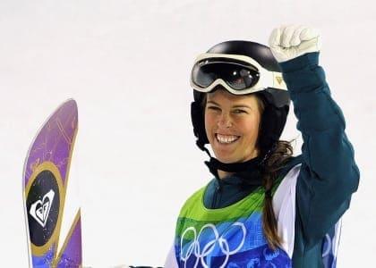 Torah Bright Winter Olympics snowboard halfpipe
