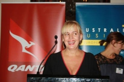Qantas Australian Woman of the Year in the UK Award 2014