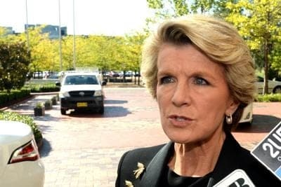 Julie Bishop Australia on Ukraine Russia