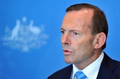 Tony Abbott - Malaysia Airline crash - travel