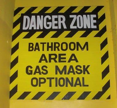 funny toilet sign australia