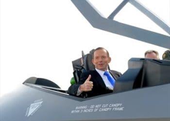 F-35 jet - Tony Abbott