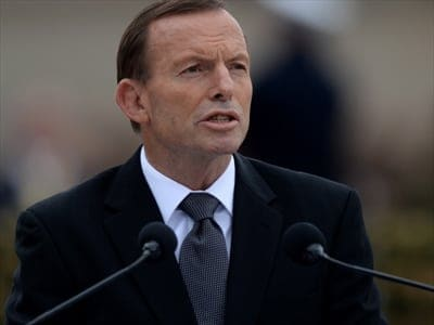 Anzac Day - Tony Abbott