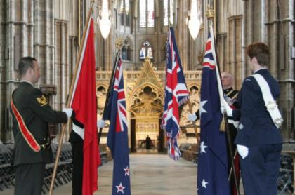 Anzac Day - London - Westminster Abbey