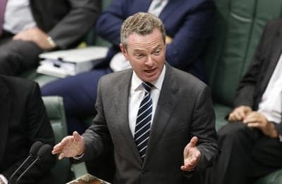 Christopher Pyne - education