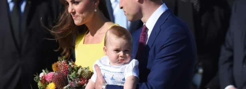 Prince George forging Aussie links, says William