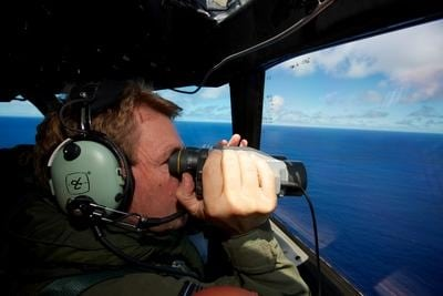 Oil slick found in Flight MH370 search area