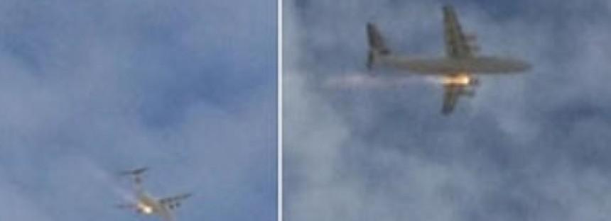 Plane catches fire over Perth