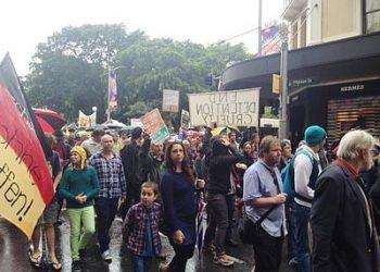 refugee protest sydney