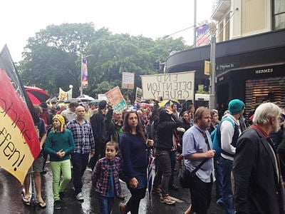 refugee protest sydney
