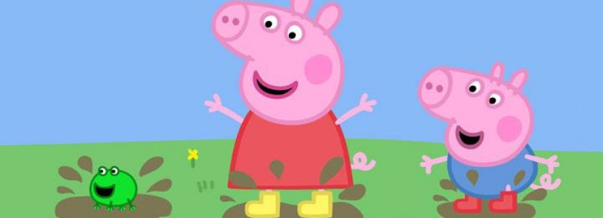 Peppa Pig heading for the 'Abbott'oir'?