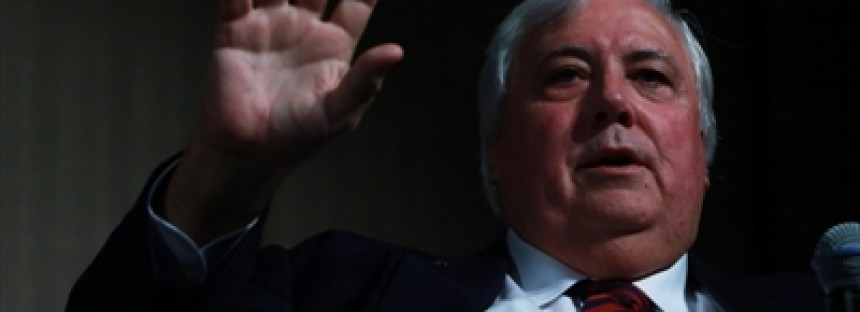 Dole helped me, says Clive Palmer