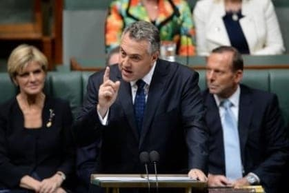 Joe Hockey Australia budget