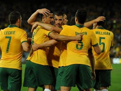 Socceroos vs South Africa - football