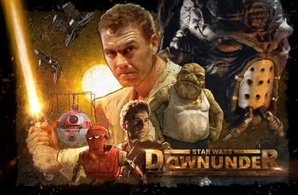 Star Wars Downunder - Fan film Australia - poster