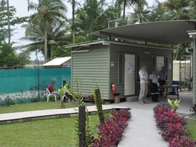Manus Island detention centre - asylum seekers