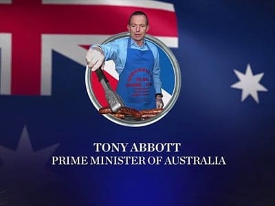 Tony Abbott on John Oliver show