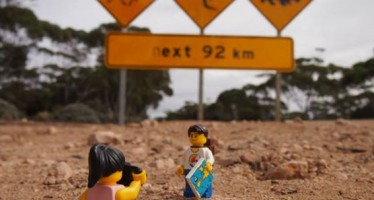 Lego tourists from UK enjoy Aussie adventure