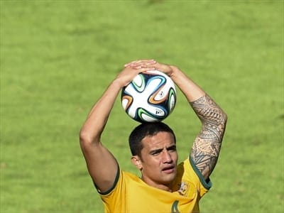Tim Cahill - Socceroos Australia - World Cup
