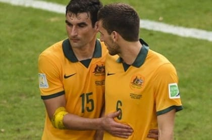 Socceroos vs Spain - World Cup 2014